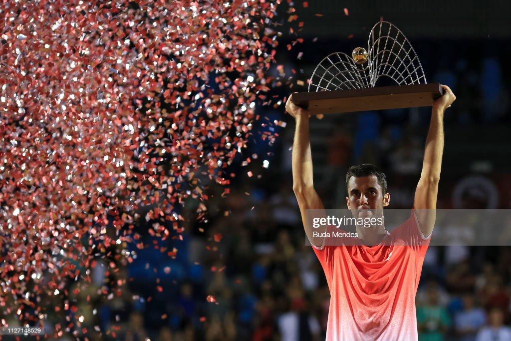 Rio Open 2019 - Day 7 : News Photo