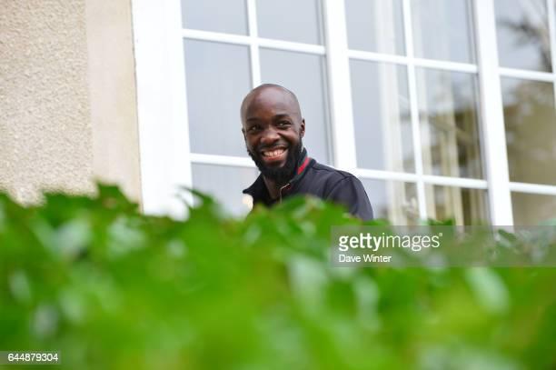 Lassana DIARRA Arrivee des joueurs Equipe de France Clairefontaine Photo Dave Winter / Icon Sport
