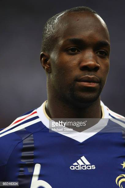 Lassana Diarra of France during the France v Republic of Ireland FIFA 2010 World Cup Qualifying Play Off second leg match at the Stade de France on...
