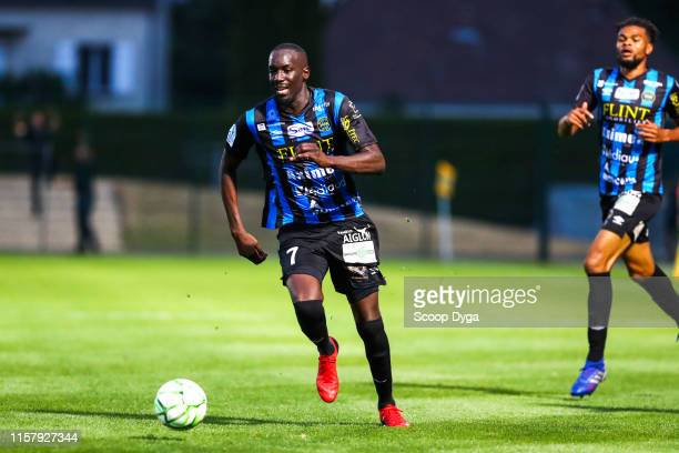 Lassana Doucoure of Chambly during the Ligue 2 match between FC Chambly and Valenciennes FC at Stade Pierre Brisson on July 26 2019 in Beauvais France