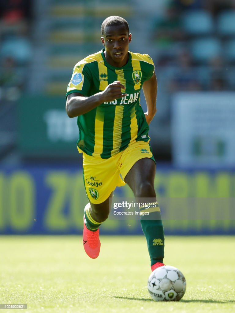 Lassana Faye Of Ado Den Haag During The Dutch Eredivisie Match News Photo Getty Images