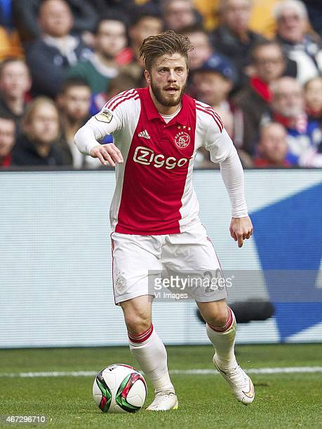 Lasse Schone of Ajax during the Dutch Eredivisie match between Ajax Amsterdam and ADO Den Haag at the Amsterdam Arena on march 22 2015 in Amsterdam...