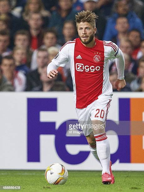 Lasse Schone of Ajax during the UEFA Europa League group A match between Ajax and Celtic on September 17 2015 at the Amsterdam Arena in Amsterdam The...