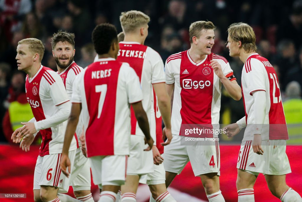 Ajax v De Graafschap - Dutch Eredivisie : News Photo