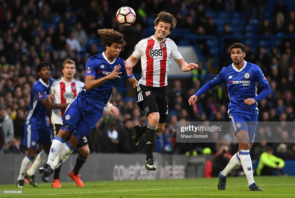 Chelsea v Brentford - The Emirates FA Cup Fourth Round : News Photo
