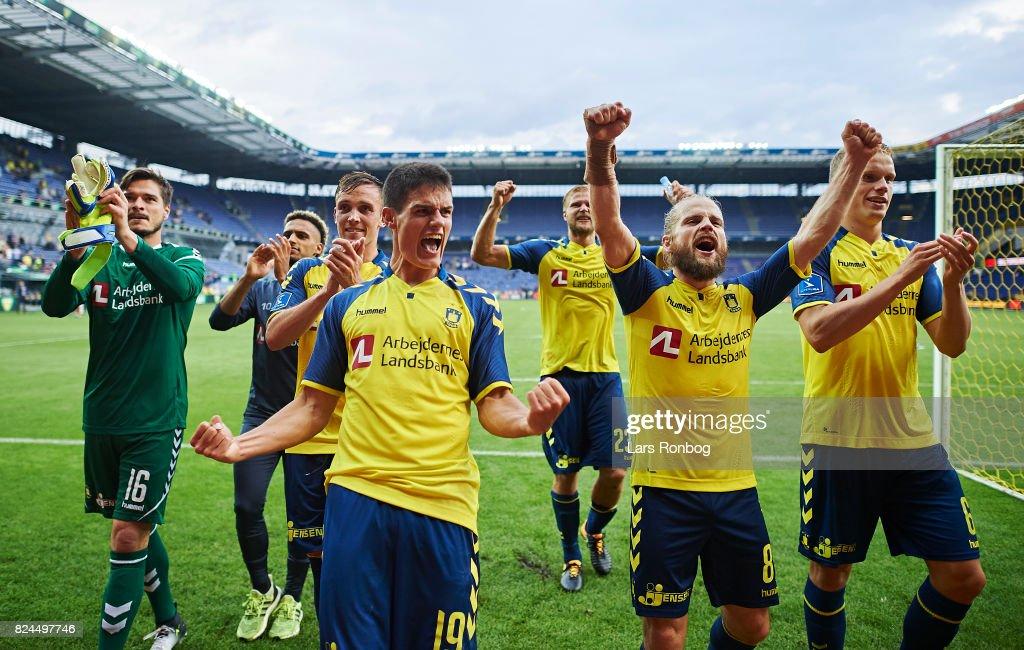 Brondby IF vs Lyngby BK - Danish Alka Superliga : News Photo