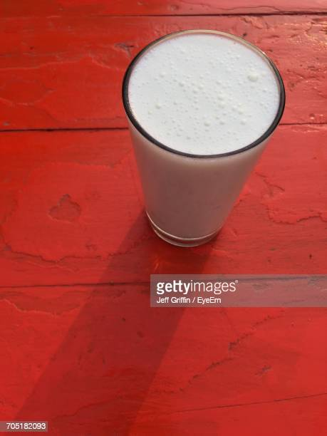 Lassi In Glass At Table