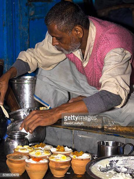 lassi in varanasi - ceremony stock pictures, royalty-free photos & images