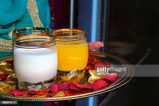 Lassi Served On Tray