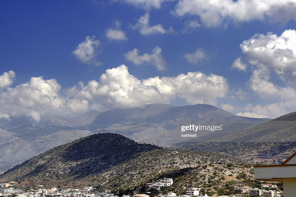 lassini mountains crete : Stock Photo