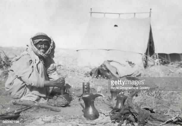 Last camp in Nefud Saudi Arabia Saudi Arabia 1913