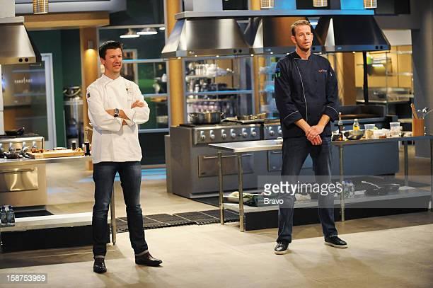 TOP CHEF Last Chance Kitchen Bart vs CJ 205 Pictured Contestants Bart Vandaele Chris CJ Jacobsen