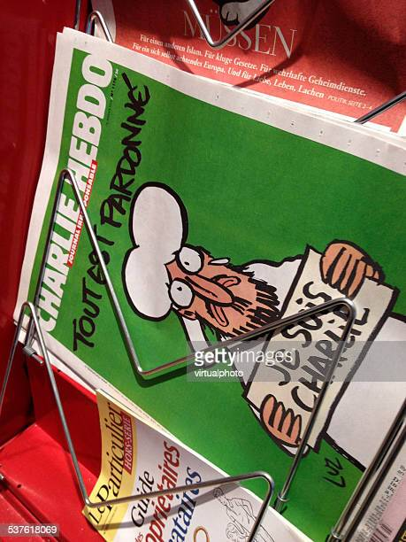 last charlie hebdo newspaper - terrorism stock pictures, royalty-free photos & images