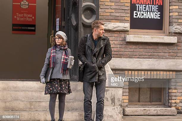US Last Christmas Episode 110 Pictured Milana Vayntrub as Sloane Justin Hartley as Kevin