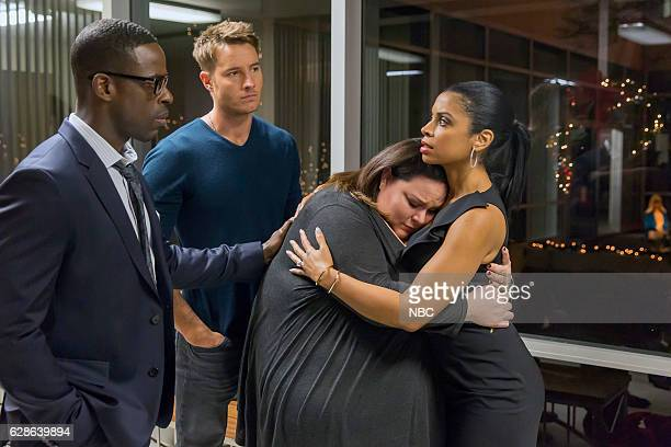 US 'Last Christmas' Episode 110 Pictured Sterling K Brown as Randall Justin Hartley as Kevin Chrissy Metz as Kate Susan Kelechi Watson as Beth