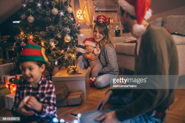 Last Christmas preparations