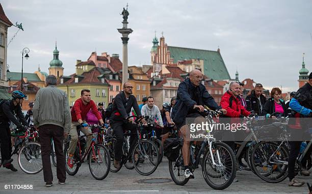 Last Critical Mass in Warsaw Poland on 30 September 2016