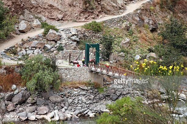 Última passagem do Rio Urubamba antes Macchu Picchu