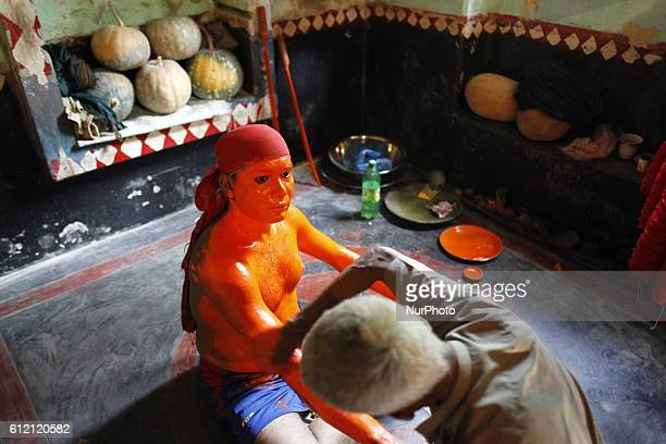Last day of the bangle month the people of Munshiganj district Bangladesh do a warship of Hindu God Shiva praying for free from disease In that day...