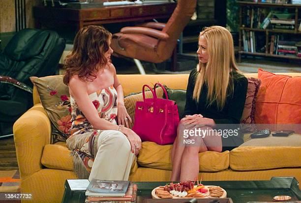 WILL GRACE Last Ex to Brooklyn Episode 2 Aired 10/2/03 Pictured Debra Messing as Grace Adler Mira Sorvino as Diane