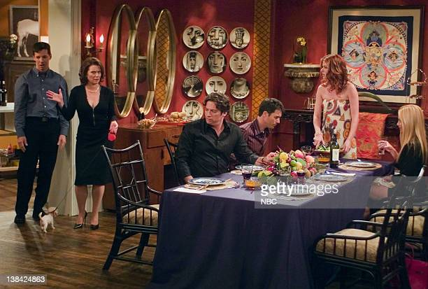 WILL GRACE Last Ex to Brooklyn Episode 2 Aired 10/2/03 Pictured Sean Hayes as Jack McFarland Megan Mullally as Karen Walker Harry Connick Jr as Leo...