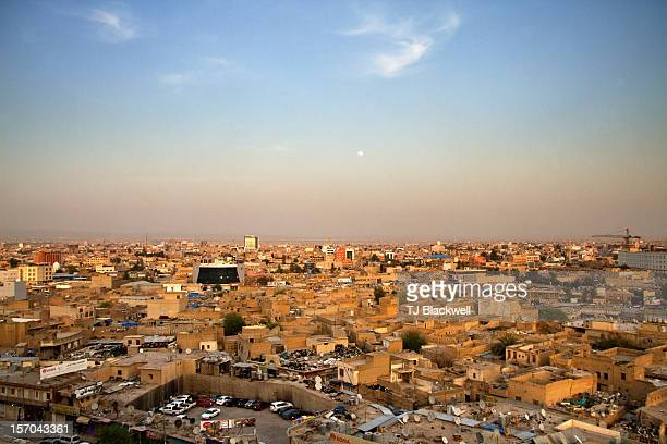 last light over kurdistan - iraq stock pictures, royalty-free photos & images