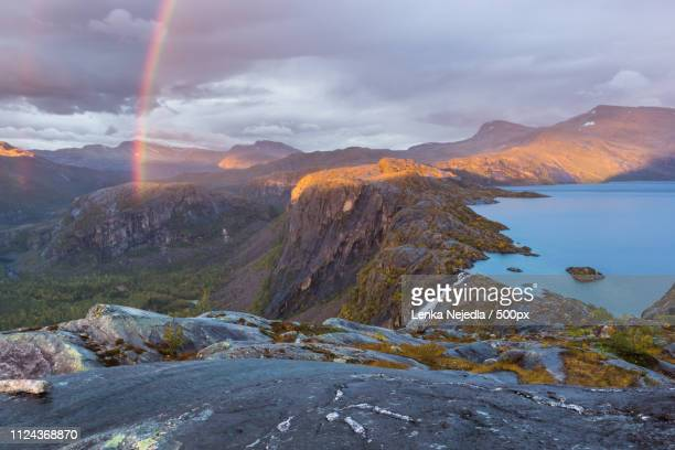 last light over rago - national park stock pictures, royalty-free photos & images