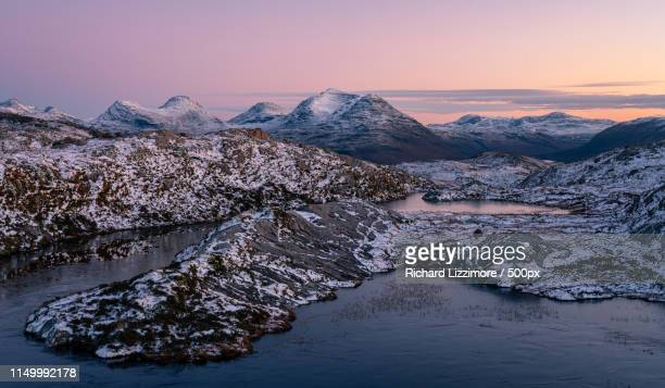 last light - wester ross stock pictures, royalty-free photos & images