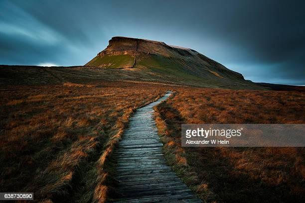 last light - norte de yorkshire - fotografias e filmes do acervo