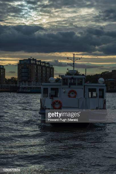 Last London Bound River Boat