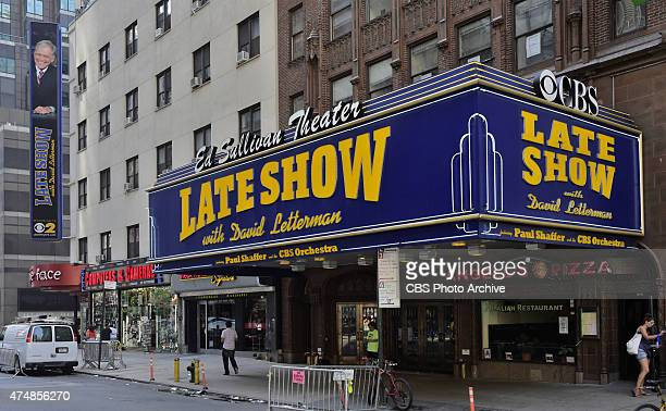 Last look at the CBS LATE SHOW Marquees. Image dated May 26.