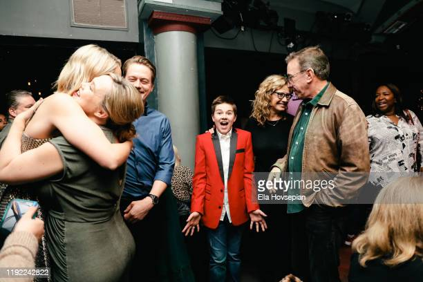 Last Man Standing cast at Rockwell Table and Stage on December 05 2019 in Los Angeles California