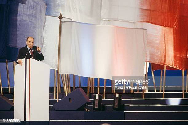 Last meeting of French President Francois Mitterrand, at Le Bourget.