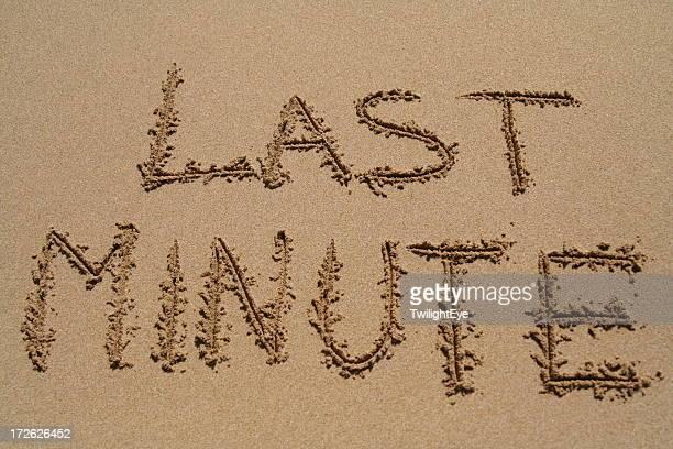 Last minute beach holiday