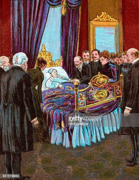 Last Moments of Queen Victoria Scene at Osborne House' 1901 Queen Victoria died on Tuesday 22 January 1901 at half past six in the evening Her son...