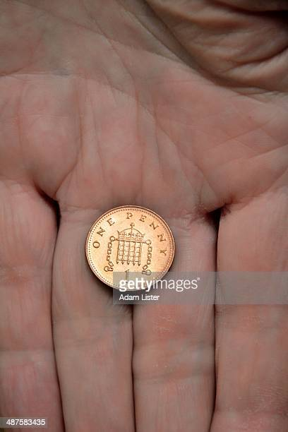 last penny - penny for the guy stock photos and pictures