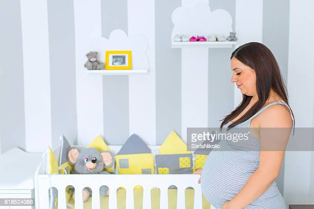 Last preparation for the baby's coming out
