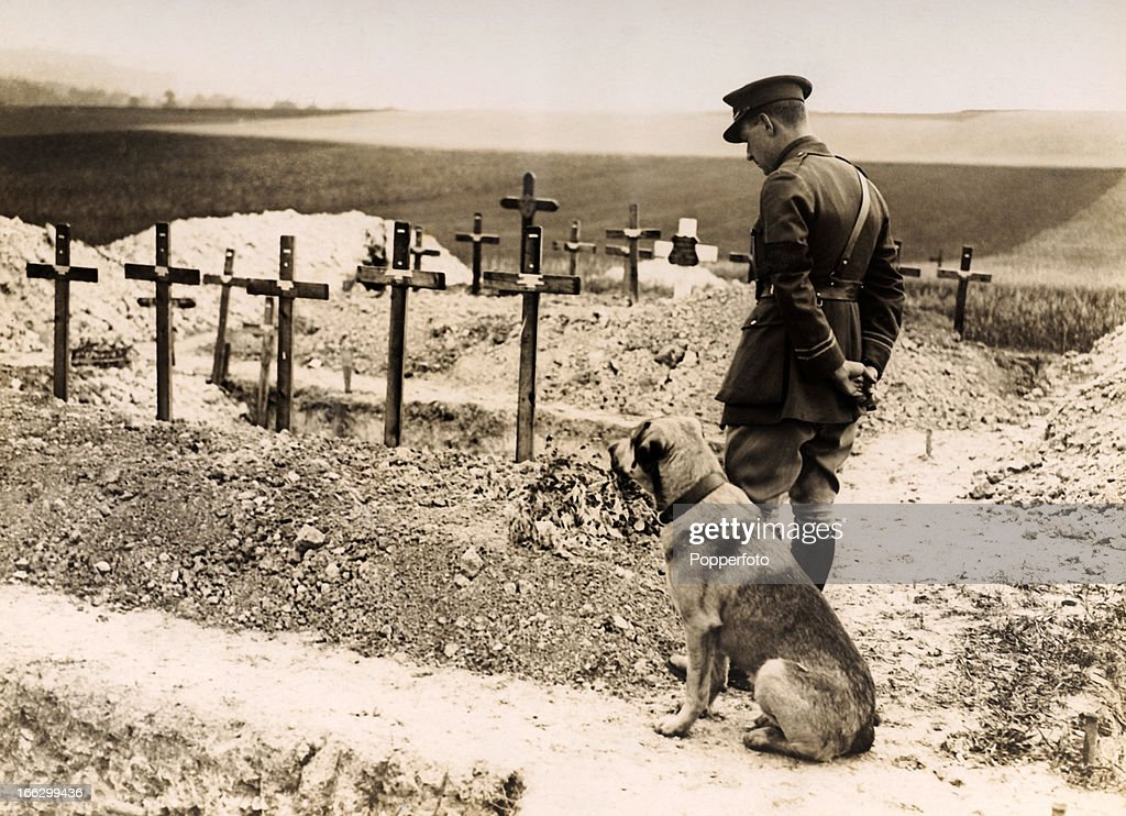 Last respects being paid at the grave of Major James Thomas Byford McCudden of the 60th squadron of the Royal Air Force, who died in Northern France on 9th July 1918. By March 1918, he had been credited with over 50 kills. An example of this is that on the morning of 16th February, he destroyed 3 German 2 seater aircraft and destroyed a 4th that afternoon. He participated in the action which led to the death of one of the top German aces, Werner Voss. On 2nd April 1918, he was awarded the Victoria Cross.