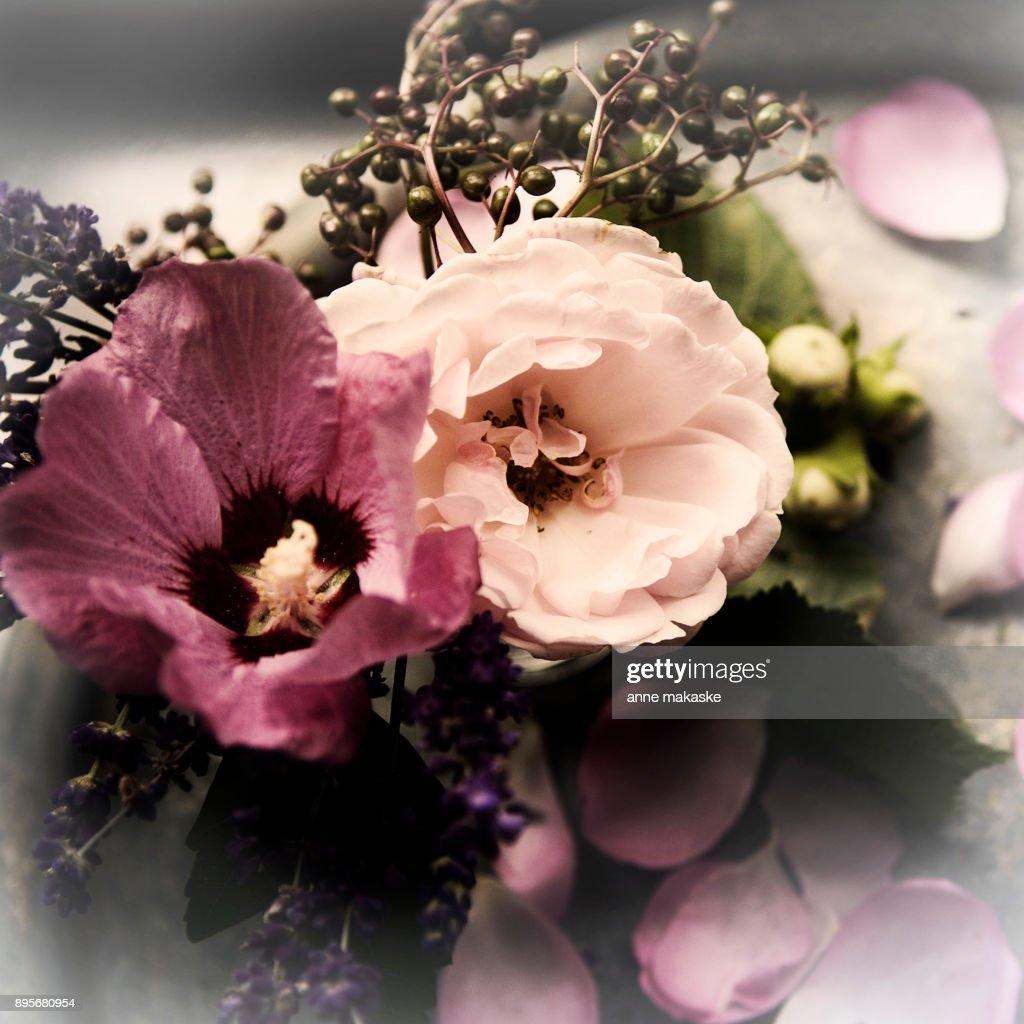 Last Romantic gardenbouquet : Stock Photo