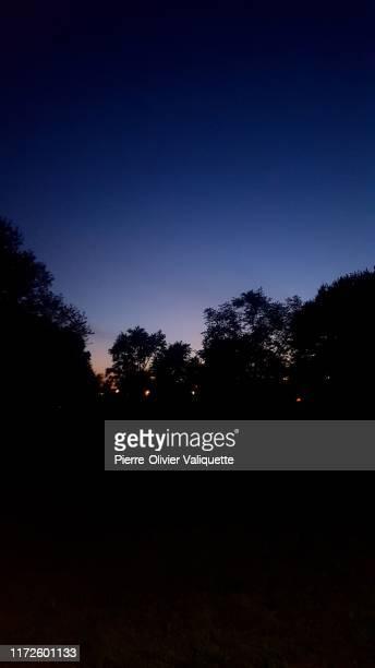 vue des derniers rayons de soleil