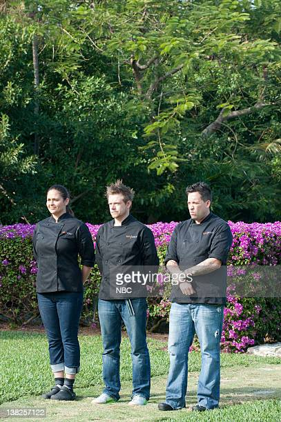 "Last Supper"" Episode 815 -- Pictured: Finalists Antonia Lofaso, Richard Blais, Mike lsabella"