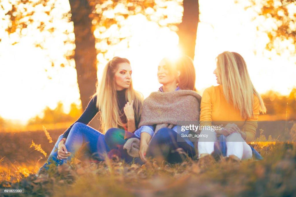 Lasting friendship : Stock Photo