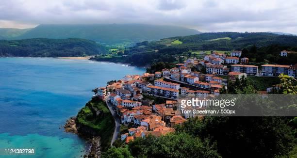 lastres - principado de asturias fotografías e imágenes de stock