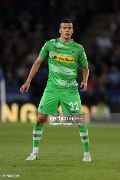 Laszlo Benes of Borussia Moenchengladbach during the preseason friendly match between Leicester City and Borussia Moenchengladbach at The King Power...