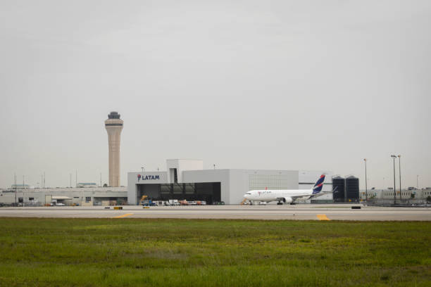 FL: Miami Airport As U.S. Air Travelers Top 2 Million For First Time In Pandemic