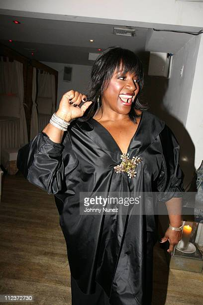 LaTanya Jackson during Zoe Jackson 25th Birthday Party April 6 2007 at Nikki Beach in New York City New York US Outlying Islands