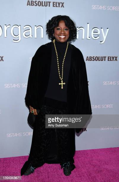 LaTanya Richardson attends Alfre Woodard's 11th Annual Sistahs' Soirée Presented by Morgan Stanley With Absolut Elyx on February 05 2020 in Los...