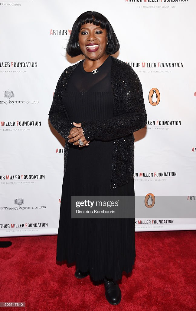 LaTanya Richardson Jackson attends Arthur Miller - One Night 100 Years Benefit at Lyceum Theatre on January 25, 2016 in New York City.