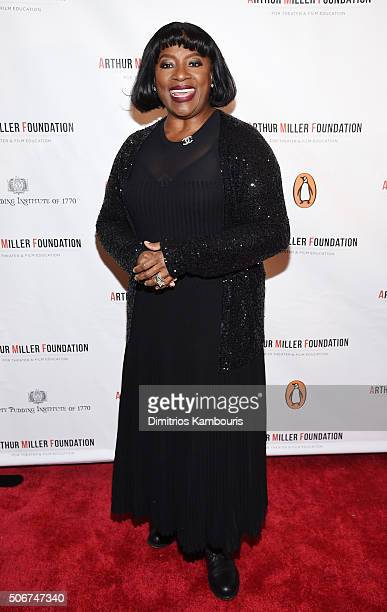 LaTanya Richardson Jackson attends Arthur Miller One Night 100 Years Benefit at Lyceum Theatre on January 25 2016 in New York City