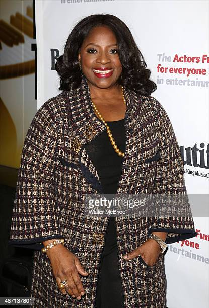 LaTanya Richardson Jackson attends the Actors Fund Benefit Performance of 'Beautiful The Carole King Musical' at Stephen Sondheim Theatre on April 27...